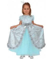 Карнавальный костюм для девочки Вестифика Принцесса Бирюзовая Люкс