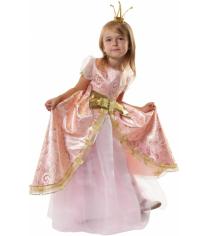 Карнавальный костюм для девочки Вестифика Принцесса Розовая Люкс