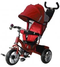 Трехколесный детский велосипед Vip Lex 908-3D красный...