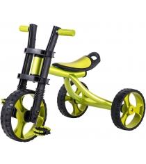 Трехколесный детский велосипед Vip Lex 706B зеленый...