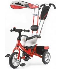 Трехколесный детский велосипед Vip Lex 903-2А красный...