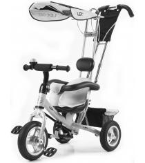 Трехколесный детский велосипед Vip Lex 903-2А белый...