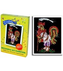 Мозаика из пайеток Волшебная мастерская Петушок М 012