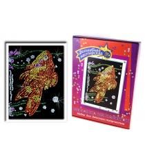 Мозаика из пайеток Волшебная мастерская Золотая рыбка 020