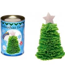 Набор для творчества Волшебная мастерская Новогодняя ёлочка зеленая с серебряной звездой ШФ-08