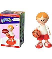 Набор для творчества Волшебная мастерская Создай куклу Баскетболист к002