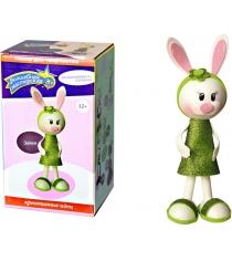 Набор для творчества Волшебная мастерская Создай куклу Зайка к005