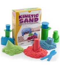 Песок WABA FUN Kinetic Sand 3 цвета синий, зеленый, красный по 1 кг 150-308...
