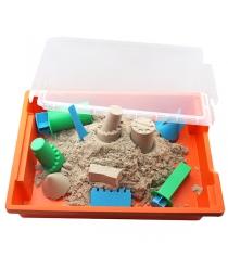 Песочница пластиковая с крышкой Waba Fun 191-102