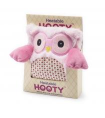 Игрушка грелка Warmies Hooty Совенок розовый HOO-PIN-1
