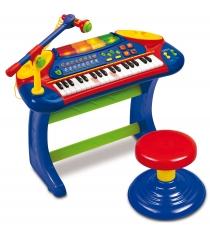 Игрушка музыкальные инструменты Электронное пианино со стульчиком Weina 2079...
