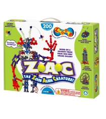 Конструктор Zoob Glow Alien Creature 200 деталей 14002