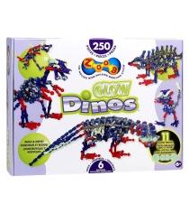 Конструктор Zoob Glow Dinos 250 деталей 14004