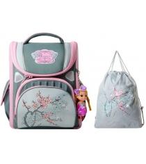 Школьный рюкзак Across со сменкой 195-12