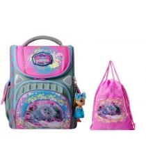 Школьный рюкзак Across со сменкой 195-13