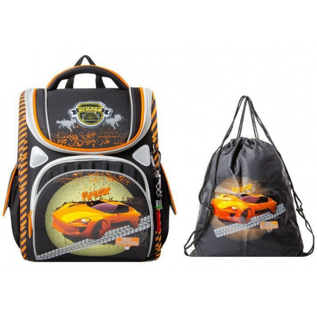 Школьный рюкзак Across со сменкой 195-2