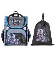 Школьный рюкзак Across со сменкой 195-6