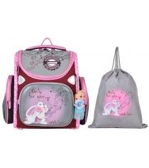 Школьный рюкзак Across со сменкой 197-15