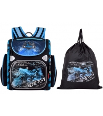 Школьный рюкзак Across со сменкой 197-3