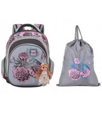 Школьный рюкзак Across со сменкой 203-7