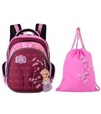Школьный рюкзак Across со сменкой 203-8