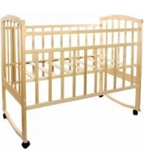 Кроватка качалка АТ Золушка 1 светлый