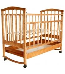 Кроватка качалка АТ Золушка 2 светлый