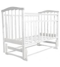 Кровать маятник Агат Золушка 3 белый