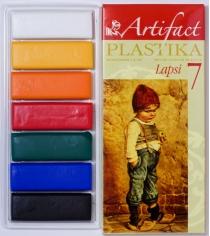 Полимерная глина Artifact lapsi 7 классических цветов 7107-8