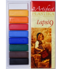 Полимерная глина Artifact lapsi 9 классических цветов 7109-8