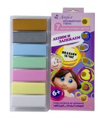 Полимерная глина Artifact 7 перламутровых цветов 7507-38