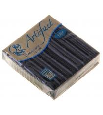 Полимерная глина Artifact черный с блестками G0009
