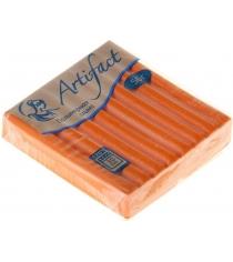 Полимерная глина Artifact оранжевый с блестками G2991