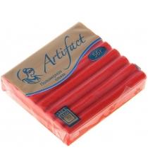 Полимерная глина Artifact красный с блестками G3581