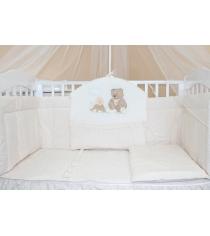 Комплект в кроватку 7 предметов Балу Бабушкины сказки