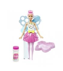 Барби Феи с волшебными пузырьками Стильная DVM95...