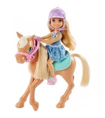 Барби Кукла Челси и пони DYL42