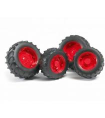 Шины с красными дисками Bruder 02-013