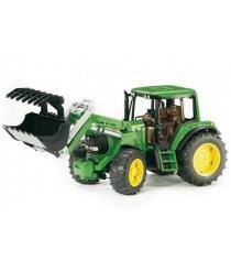 Трактор John Deere 6920 с погрузчиком Bruder 02-052