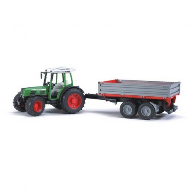 Трактор Fendt 209 S с прицепом Bruder 02-104