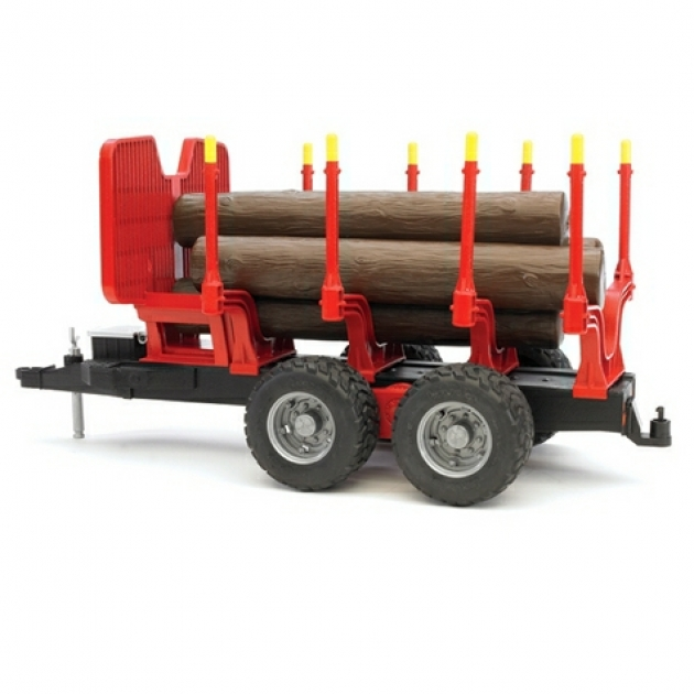 Bruder 02-251 для перевозки леса с брёвнами