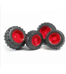Шины с красными дисками Bruder 02-322