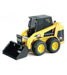 Погрузчик Bruder Мини колёсный CAT с ковшом (02-431) 1:16 23 см