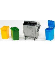 набор мусорных баков Bruder 02-607 02607