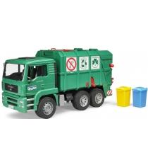 Мусоровоз Bruder Man Tga Зеленый 02-753