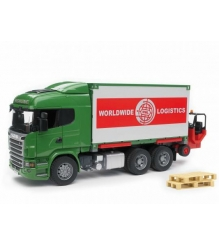 Фургон Scania Bruder 03-580
