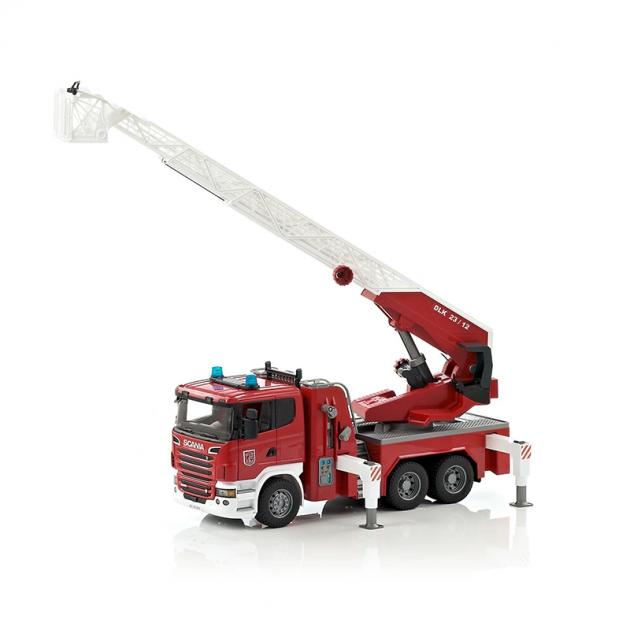 Пожарная машина Scania Bruder 03-590