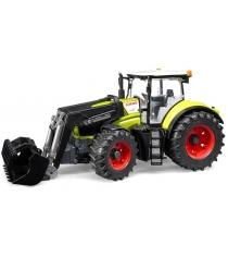 Трактор Claas Axion 950 c погрузчиком Bruder 03-013