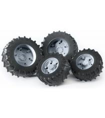 Колеса Bruder с серыми дисками к тракторам серии 3000 03-315...