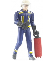 Набор с фигуркой пожарного 107мм Bruder 60-100